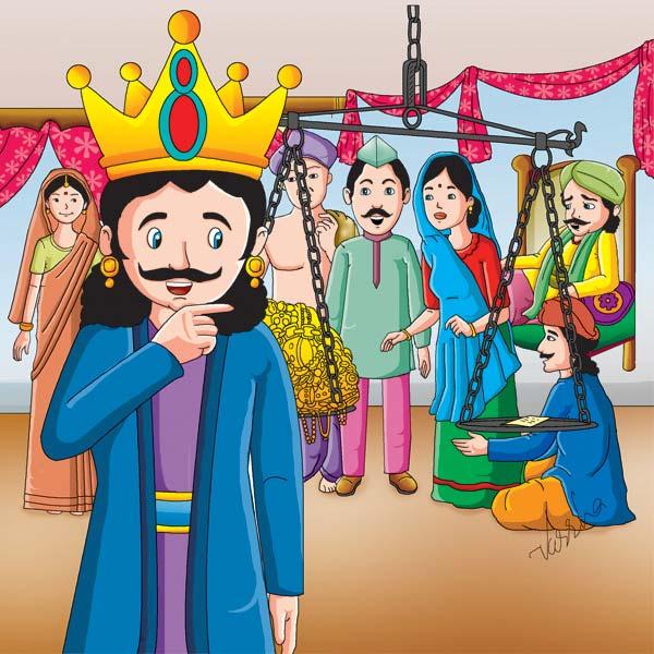 hindi moral story wonder of charity