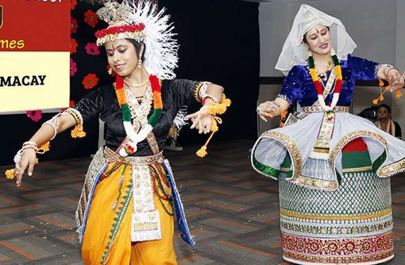 Manipuri dance is one of the six types of classical dance in India