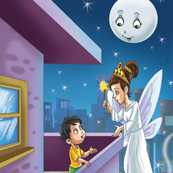 Children's Funny Child Story: Janey and the Fairy