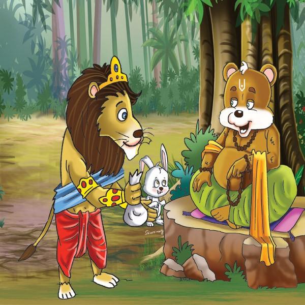 Hindi Jungle Story : Priceless gift of new year