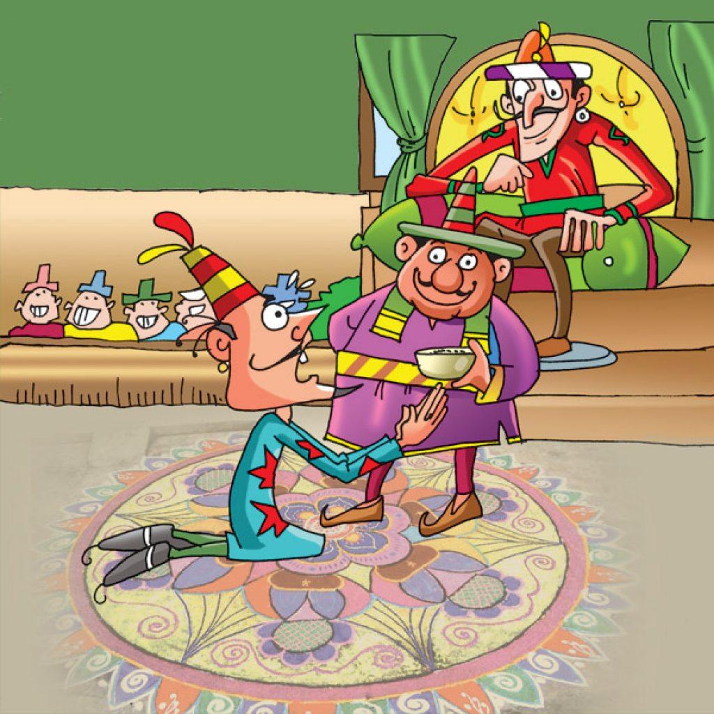 Lotpot Hindi Child Story The Magician's Challenge