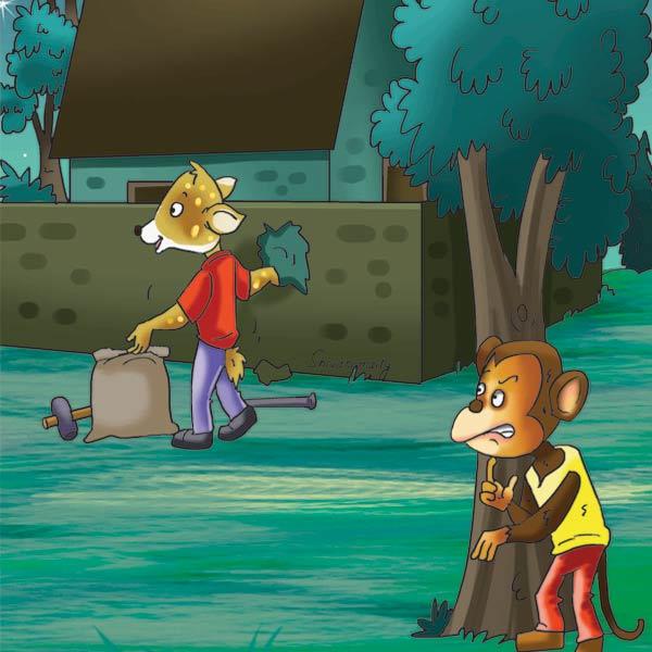 Lotpot Jungle Ki Kahani  Jhumku caught thief