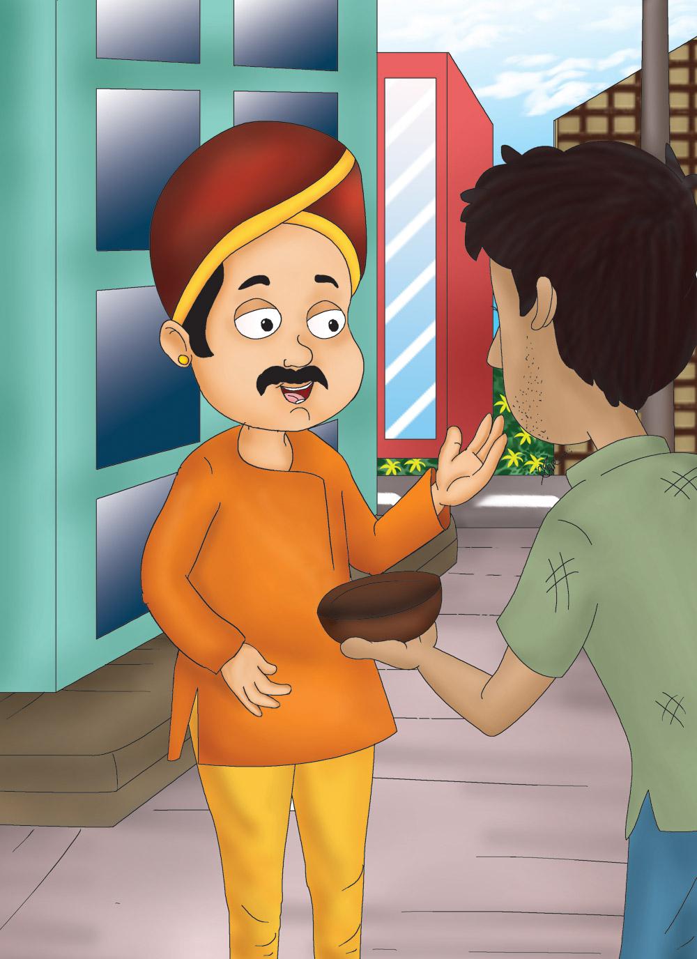 Moral Story Lotpot tit for tat hindi