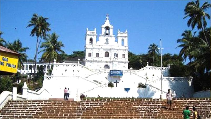 Visit to Panaji, the capital of Goa, the western province of India